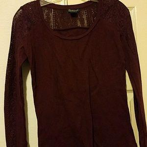 Lucky brand long sleeve shirt size S